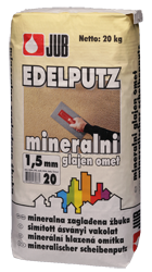 Mineralischer scheibenputz