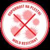 AKRINOL - Odpornost na plesni - rdeč piktogram